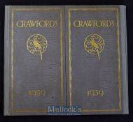 Crawfords Biscuits & Chocolates - Desk Writing Set & Blotter Etc For 1939 Sales Catalogue (In