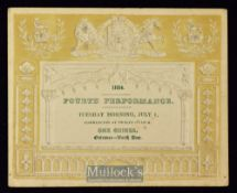 Royal Musical Festival at Westminster Abbey July 1st 1834 One Guinea Ticket - An impressive two