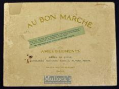 Bon Marche (Leading Store in Paris^ still exists)^ 1914 Furniture Catalogue A most attractive 40