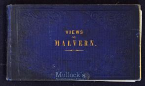 Views of Malvern 1854 Souvenir - A Souvenir publication of 12 engraved views of places of
