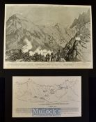 India & Punjab - The Expedition Against the Bunerwals: The Taking of the Tanga Pass: General View of