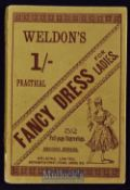 Weldon's Fancy Dress For Ladies. Circa 1900 Brochure - Has full page illustrations with