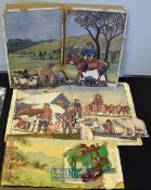 Interesting Selection of Early 20th century Children Educational & Visual Learning of The World –