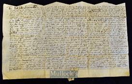 Great Britain - Knightstone Manor near Ottery^ Devon 28th August 1579 an interesting Indenture