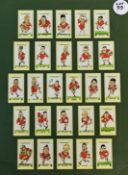 1995 RWC Wales Rugby Squad Cards: The Daily Telegraph series of cigarette card-style caricatures