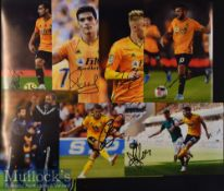 15x Signed Wolverhampton Wanderers Colour Photographs Bennet^ Perry^ Cutrone^ Santo^ and more^