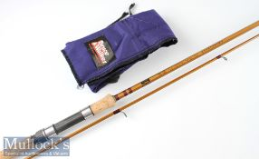 """Fine and as new Bruce & Walker """"Ray Walton Specialist No.1"""" Hexagraph carbon rod – 11ft 3in pc split"""