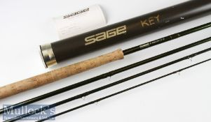 Good Sage Z-Axis Generation 5 carbon salmon fly rod ser. no. ABA0861 – 15ft 4pc line 10# wt - 9 7/