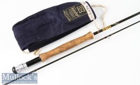 """Hardy's Made in England """"Hardy Graphite Fly"""" trout rod - 9ft 2pc line 4/5# dropped ring guides"""