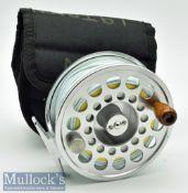"Fine Pflueger Trion large salmon fly reel ser, no 01K11CK – 4 1/8"" wide drum large arbour with"