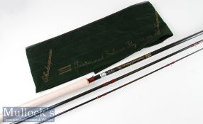 """Fine unused Shakespeare """"Traditional Salmon Fly"""" High Modulus Carbon Rod model number 1735 450"""