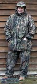 Sportchief Canada Camouflage Aquatex Rainproof thermal suit – the top comes with hood with