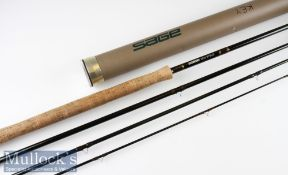 """Good Sage Model 10151 """"Graphite IV"""" salmon fly rod ser. no.ABA0861 – 15ft 1in 4pc line 10# wt – 1o"""