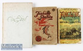 "3x various fishing books from 1899 onwards – Robert Blakey ""Angling or How To Angle and Where To Go"""