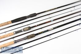 3x good carbon specimen rods – Leeda Dave Hassell GB Feeder 11ft 2pc light medium action – 2lb to