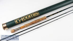 "Good G Loomis ""Trilogy"" FR 1208 carbon fly rod -10ft 3pc line 8# with 2x Fuji style lined butt"