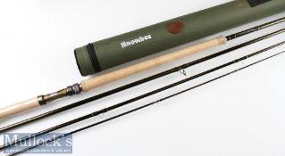 "Fine unused Snowbee ""Diamond 2 Spey"" carbon salmon fly rod serial number S10170 c2020 – 15ft 4pc"