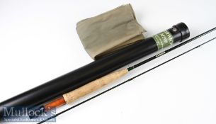 Very good David Norwich M500 Graphite brook fly rod ser. no. 3520– 7ft 2pc line 3/5#with Fuji