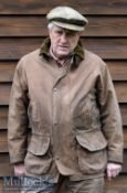 Brown Chrysalis Clothes Canvas Jacket large 42/44 some signs of use to cuffs plus Herbert Johnson