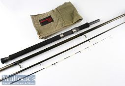 Good Terry Eustace T W B Custom Built Carbon Heavy Feeder rod - 12ft 9in 4 section with detachable