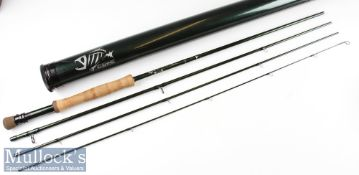 Good G Loomis NRX Carbon Travel Trout Fly Rod – 10ft 4pc line 7# - black anodised screw locking