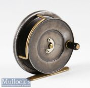 "Hardy Bros Alnwick ""The Sunbeam"" Dup. Mk.II alloy fly reel – 3.25"" dia (largest size) – with"
