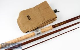 B James & Son in Association with Bruce and Walker Compound Taper glass fibre coarse rod - 12 foot