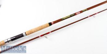 "Fine as new Abu Svangsta Atlantic 410 sea fishing rod – 9ft 2pc cwt 10-50gms – 28"" cork handle"