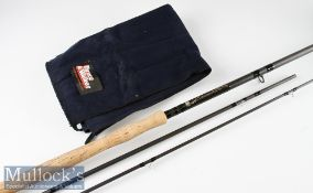"Good Bruce & Walker Ken Walker signature ""Norway Speycaster"" Hand built salmon carbon fly rod – 16ft"