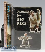 "Rickards, Barrie et al (3) – on Pike Fishing – ""The 10 Greatest Pike Anglers"" by Rickards and"