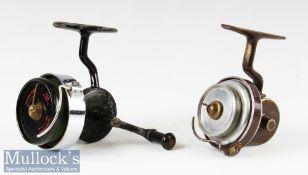 Hardy Bros 'The Hardex' No 2 Mk I spinning reel LHW with half bail arm^ bakelite spool^ runs smooth^