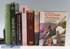 Selection of Game/Hunting/Country Pursuits Books to include Coursing The Pursuit of Game with
