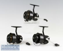 2x Mitchell 314 Spinning Reels full bail arm LHW French made and a CAP spinning reel with full