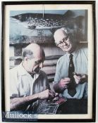 Richard Walker and Fred J Taylor Print depicts the cover of their Vinyl LP Year Of Fishing Vol 1