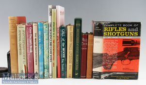 Selection of Various Books to include Red Deer^ Canadian North^ A Veterinary Guide for Animal