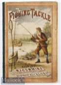 Cummins^ W J – Fishing Tackle Catalogue^ published by Bishop^ Auckland^ c1881 2nd edition^ having
