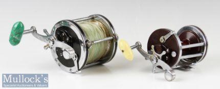 2x Penn Sea Reels to include Penn 'Senator' 4/0 USA made^ black end plates^ green torpedo handle