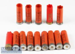 Selection of Empty 12 Gauge Shotgun Cartridges/Cases in plastic^ most if not all with Eley primers
