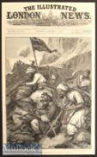 India & Punjab – The War of Afghanistan: An Afghan Sungha Print original drawn by W. Simpson^ as a