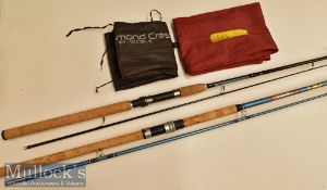ABU Garcia Diamon Crest 8ft Spinning Rod 12-32gr 2 piece^ in good clean condition with maker's