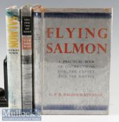 Salmon Fishing Book selection – including Balfour-Kinnear; Fly Salmon^ 1937^ 1st edition^ 8