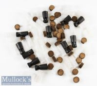 Ammunition - Quantity of Plastic Shotshells and Fibre Wads black and clear examples (100s)