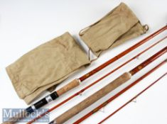 2x Interesting A E Rudge Redditch Made Match/Spinning rods – Good A.E Rudge The Dorchester 10ft