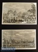 India & Punjab – Holy Tank and Temple of the Sikhs^ Umritzir 1858 Original Engravings measures