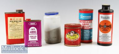 Selection of Smokeless Powder to include IMR 4895 (almost full)^ Hercules 2400 (half full)^