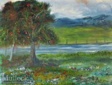 American Serial Killer – Original Artwork - Henry Lee Lucas (1936-2001) Oil Painting – signed to the