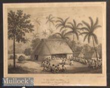 1830s Le Chef-Palou 'Tonga-Tabou' Engravings both mounted measure 49x36cm (2)