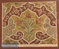 India & Punjab – Mosque of Wazir Khan^ Lahore Colour Print W. Griggs Chromo-Litho^ London mounted