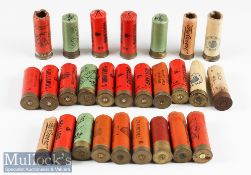 Selection of Empty 12 Gauge Shotgun Cartridges/Cases with card cases most with 'Eley/Special