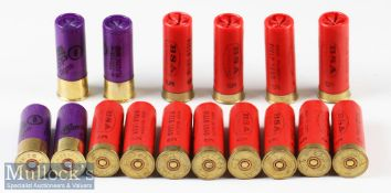 Collection of BSA12 Gauge High Velocity Field Load Gun Cartridges (x109)^ plus Just Cartridges 12